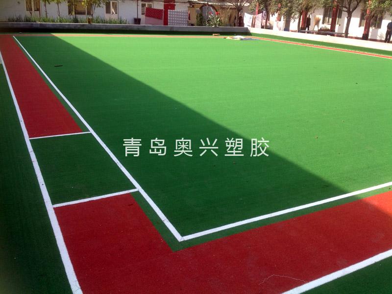 环保人造草坪门球场